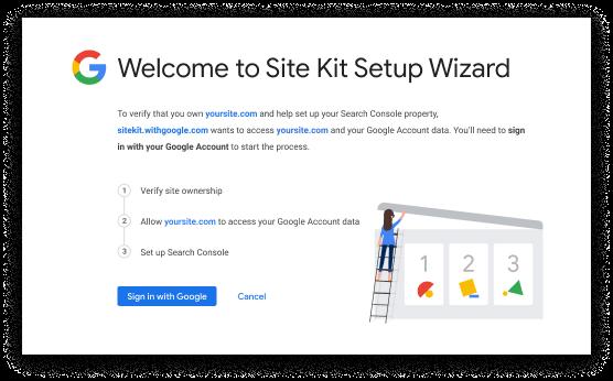 Google Site Kit para WordPress – 4 Ferramentas em um só local